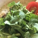 スープカレー トムトムキキル - パクチー(150円+税)