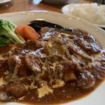 レストラン ウイング - 料理写真:ボイルドポークのローマ風1,790円+Aセット(ライス・サラダ・ドリンク)580円
