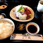 日本料理 ます膳 - お造り御膳1500円