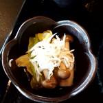日本料理 ます膳 - 小鉢に