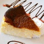ピクニック - バスク風チーズケーキ