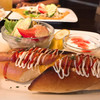 心粋 - 料理写真:ホットドッグモーニング