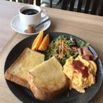からふね屋珈琲  - 料理写真:モーニングAセット