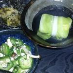 むちゃく - 小鉢2種  漬け物