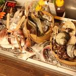 本日のおすすめ貝(季節のオススメ参照)