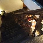 ボンベイバザー - 階段