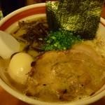 光・MENJI - 豚骨味玉中太麺■\650-■