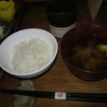 11329698 - ランチのご飯とお味噌汁