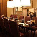 トニーローマ - 落ち着いた個室は会議室としてもご利用いただけます。