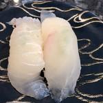 回転寿司宝船 - 料理写真:活ひらめ