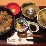 常盤和み家 - 海鮮丼セット(正式名失念)