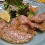 風らい坊 - 豚トロ塩焼き