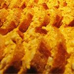 フラットファイブ - バジルとアンチョビの玉子パン