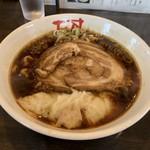 自然派らーめん 蓮 - ワンタン麺❗️
