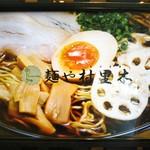 麺や村里木 - 看板の写真