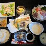 旬鮮台所 Zen - 天麩羅刺身膳