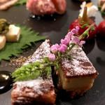 クレープリー 京都シャンデレール - 前菜盛り合わせ