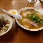 まるよし - チャーシュー丼セット 900円