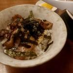 まるよし - ミニチャーシュー丼
