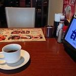113318667 - 食後のコーヒー無料
