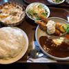 アルタイル - 料理写真:トリオ・ザ・ハンバーグ(ライス大盛)