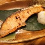 羽田市場 - 銀鮭焼き(380円)