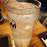羽田市場 - レモンサワー