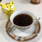 いこい - ドリンク写真:天日干し 丹波黒豆珈琲500円(税込)