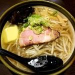 めんこい屋 - 塩バターラーメン 540円