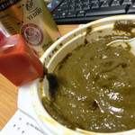 ディープジョティ - 料理写真:サグマトン、サラダのドレッシング