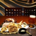 あおもり家 - 本日の天ぷらとクラフトビール( ≧∀≦)ノ