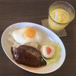 サンポ カフェ - ロコモコセット