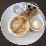 サンポ カフェ - プレーンパンケーキ