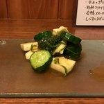 酒と串焼 home - きゅうり山芋