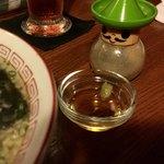 酒と串焼 home - ネギ油