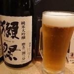 居酒屋加賀屋 - ビール