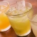 ○果実酒(約10種類)