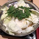 能古うどん製造所 - 料理写真:もつ鍋(しょうゆ)