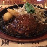 グルマンやま - 料理写真:やまランチのハンバーグ