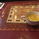 Gurumanyama - ランチのスープ