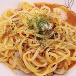 Gatti amando - ◆「パスタ・デザートセット」◇「魚介のトマト」
