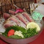 レストハウス - トロ鰹のたたき