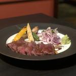 個室 肉寿司と松阪牛 くずし割烹たてがみ - 和牛のステーキ