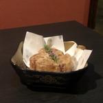 個室 肉寿司と松阪牛 くずし割烹たてがみ - 大根の唐揚げ