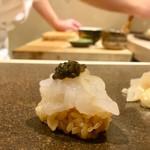 鮨 天海 - しろえび