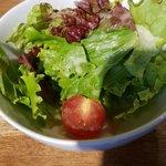OSTERIA udagawa - サラダのドレッシング美味
