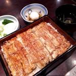 五代目 野田岩 - 鰻重〈桂〉