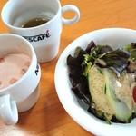 阿蘇きのこ亭  - 飲み物&スープは各自で選びます。ファミレスみたいに
