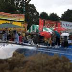 マサラ キング - 外観写真:マサラキング@大雨w 隣はナワブとアルカラム ちょっとおもしろい。
