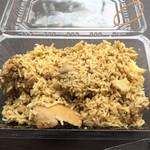 マサラ キング - 料理写真:最低限の条件は満たしてます。。。か? まあ、 バスマティを食べられればとりあえず十分です。